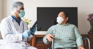 Paciente pode receber assistência domiciliar no conforto do lar